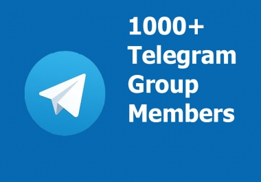 Add 100 High Quality Telegram Group Members