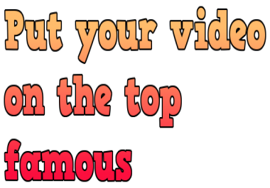 Help video on top 1 google search and you tube search by real traffic