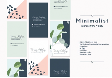 Design Unique and Awesome Business Card and Stationary