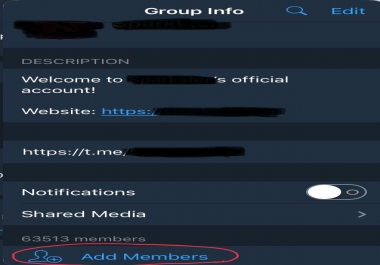 INVITE 1000 REAL TELEGRAM MEMBERS TARGETED ICO and BITCOIN GROUPS