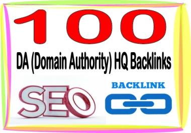 Submit you 100 HQ PR Panda safe Contextual & Unique DA (Domain Authority) backlinks