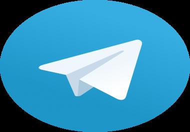Buy 500+ Real Telegram Members
