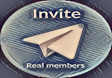 INVITE 1000 REAL TELEGRAM MEMBERS
