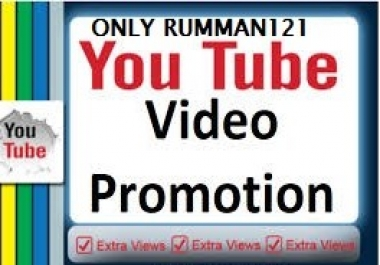 Increase YouTube Video Promotion And Social Media Marketing