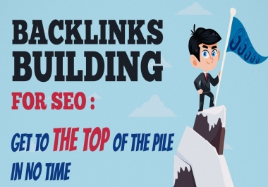 Get 50 High Quality SEO Backlinks