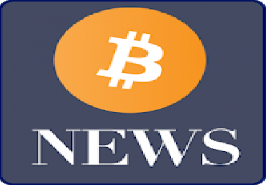 SEO optimized autopilot Bitcoin news website with 6 mo hosting