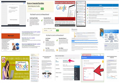 Bad link remove from Google or other search engine result pages