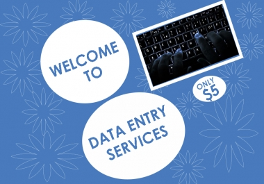To provide three hour of data entry work