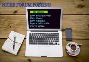 I can Do 8 Niche Relevant Forum Posting