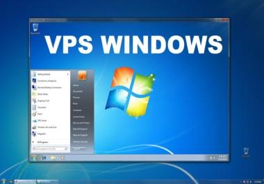 RDP vps windows 2 GB RAM, 50 GB SSD
