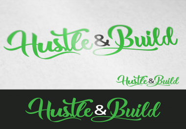 professional logo - business card - letterhead with unlimited revision