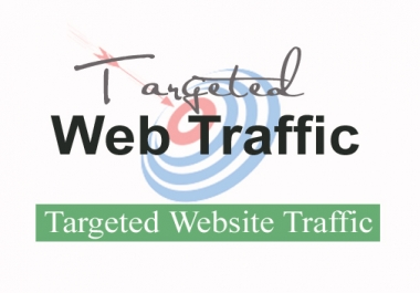 Drive 10,000+ Targeted Country Web TRAFFIC From Social Media Networks & Search Engine