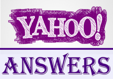 CREATE 30 YAHOO ANSWERS BACKLINKS AND PROMOTE YOUR WEBSITE ON GOOGLE
