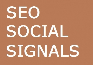 500 SEO SOCIAL SIGNALS 50 BUFFER SHARE 300 LINKEDIN 1... for $1