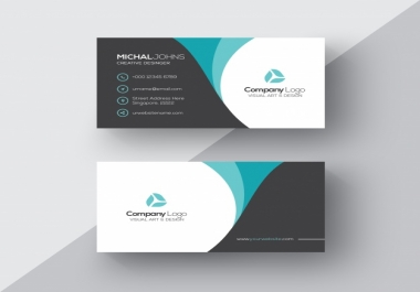 design a professional business card for your business