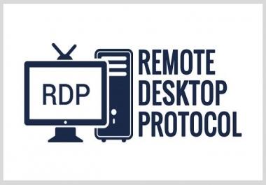 Windows VPS RDP 4 Core 8 GB RAM 160 GB SSD RENEWABLE