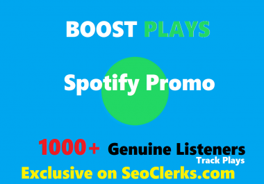 Add Your Track To Spotfy Playlist to boost streams , 1-2 weeks placement