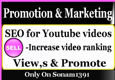 Promote YouTube Video Marketing with social Media Promotion