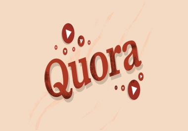 Promote your website by creating 2 Quora Answer for targeted traffic