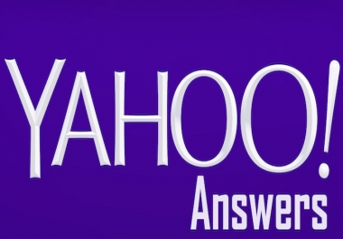 Promote Your Website 25 High Quality Yahoo Answers With Clickable Backlinks