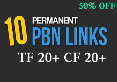 Create Manual 10 Pbn Posts On Hight Tf Domains In 24 Hour