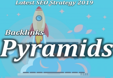 Buy Latest SEO Strategy 2019 Link pyramids with 3 Tier Backlinks 2000+ Powerful Links
