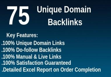 Do 75 Unique Domain High Da Pa Dofollow Blog Comments