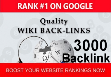 Provide more than 3000 contextual wiki backlinks