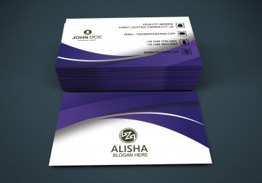 I am Professional Business Card Design