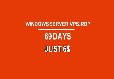 get vps-rdp server for 3 months full administrator by cheap price