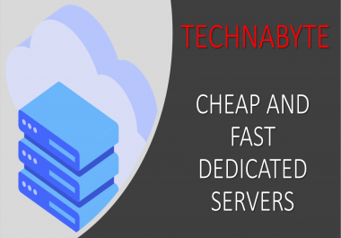 Cheap Managed Dedicated Servers E3-1230v6 4 + 16GB of RAM