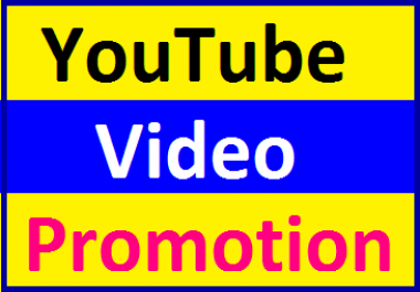 YouTube Video Marketing & Social Media Promotion Instant