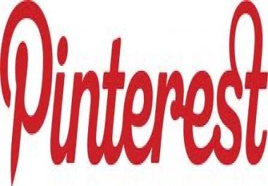 provide you 50 pinterest followers for $1