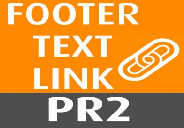 PR2 footer link on social / image rating site