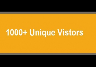 give you 1000+ visitors, from diverse IP for $1