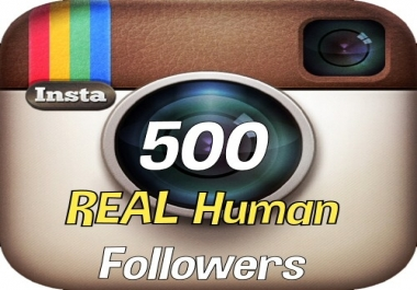 i will add instant 500 Hight Quality Instagram Followers... for $1