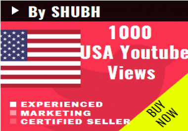 Add 1000 USA Views