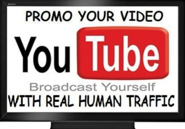 Give you 3000+ Real Human FAST YOUTUBE Views In less then 48 - 72 Hou