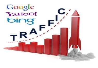send 500+ non Chinese visitors every day for 30 days, started within 12 hours