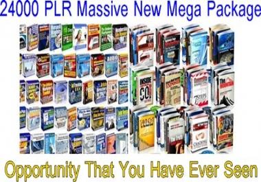 provide fresh  24000 PLR article  for $1