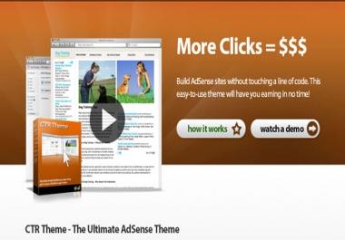 give Adsense CTR theme for wordpress