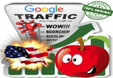 American Search Traffic from Google.com with your Keywords