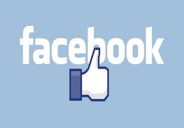 100 USA Look Real Facebook like for $1