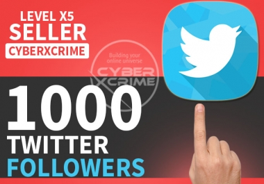 get you 1000+ HQ Twitter followers in less then 24 hours