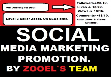 RUN A SOCIAL MEDIA MARKETING PROMOTION for $1