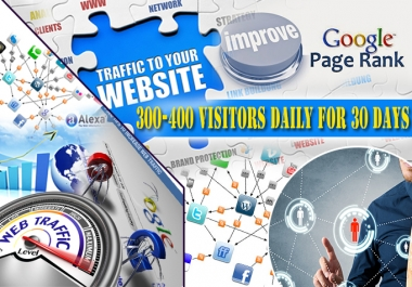 drive unlimited  website traffic for one month