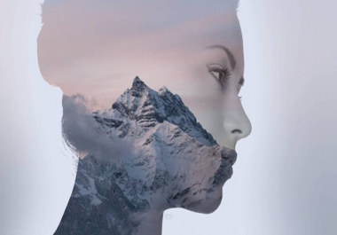 I will apply Double Exposure Photoshop Effect on your image for 5