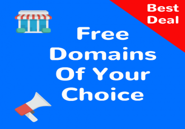 I will give you a Free Domain 28 - 50 At Godaddy - What Can You Give Me