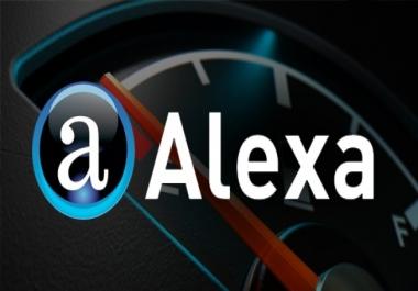 I need to improve alexa rank - local countries