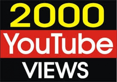 2000 youtube views just for 8